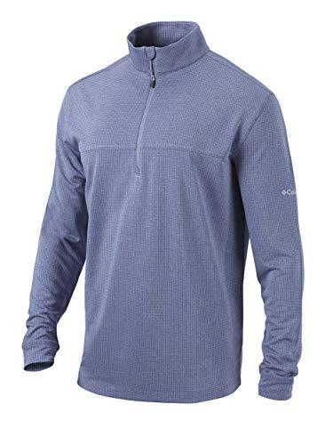Columbia Golf Men's Omni-Wick Soar 1/4 Zip Pullover (XX-Large, Navy)