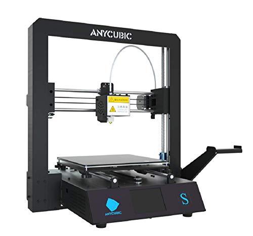 ANYCUBIC MEGA-S 金属製 3Dプリンター 高精度 日本語取扱説明書付属 Titan押出機 TPU/ABS/PLA等 操作簡易 ...