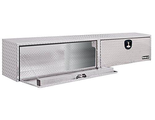 Buyers Products - 1701551 Diamond Tread Aluminum Topsider Truck Box w/ T-Handle Latch (16x13x72 Inch),Metallic