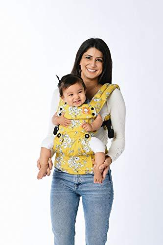 Baby Tula Explore - BLANCHE - Marsupio regolabile per neonati e bambini, ergonomico, varie posizioni per 3,2-20,4 kg