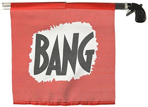 """Loftus Bang Gun with Flag, Large/8.5\"""""""