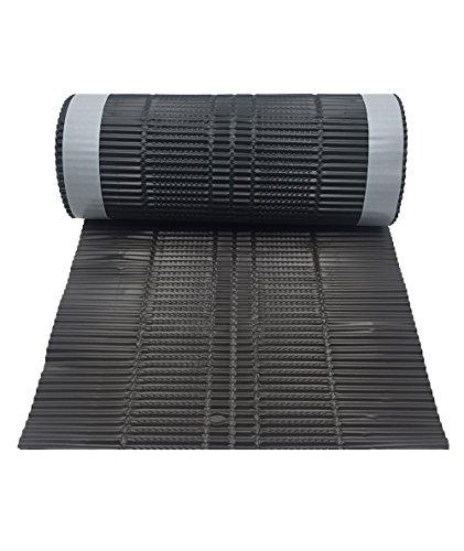 Lámina bajo teja, 5 m de rollo de aluminio para la ventilación de las tejas de las cubiertas.
