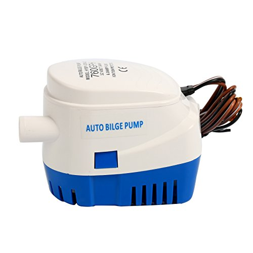 Amarine Made Automatic Submersible Boat Bilge Water Pump 12v 760gph Auto with Float Switch-New