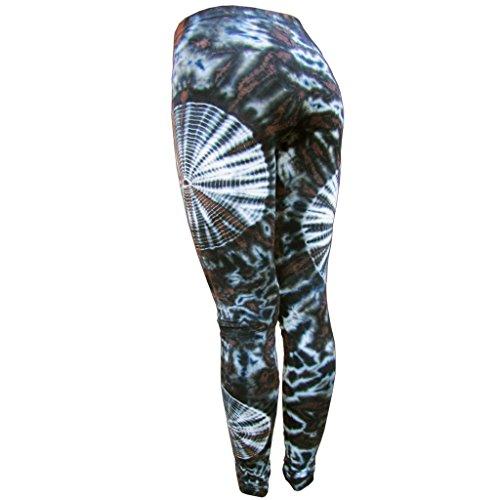 PANASIAM Leggings batik2, CS05 Brown Tones, M
