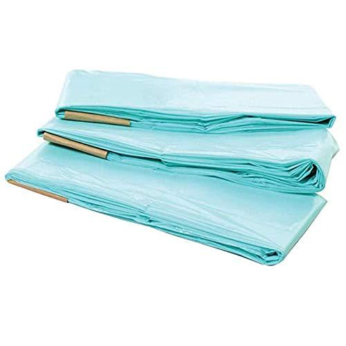 3pcs Paquete de recarga biodegradable Bolsas de basura de pañales para bebé de basura 16l Reemplazo de revestimientos de reemplazo Bolsa de basura para el hogar y la cocina