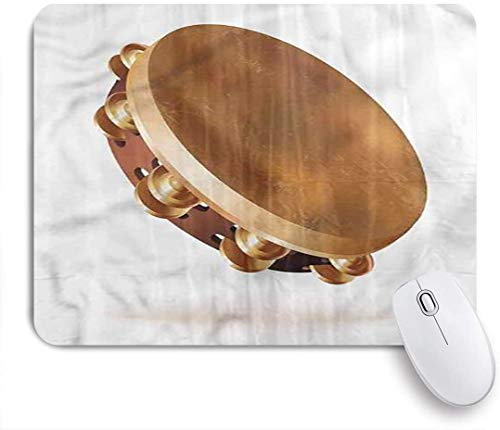 MOBEITI Gaming Mouse Pad,Tambourine Hand Percussion Jingles,9.5