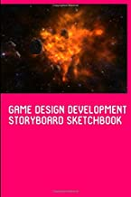 Game Design Development Storyboard Sketchbook for Storytelling & Layouts: Blank Story Board Frames Journal