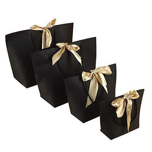 SONGXZ 15Pcs Premium Birthday Party Paper Bag, Bolsa De Regalo, Bolsa De Papel Kraft (Con Asa), CumpleañOs, Fiesta De Té, Bodas Y Fiestas, Multicolor