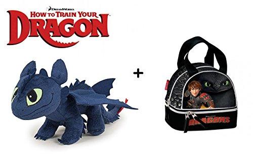 HTTYD como Entrenar tu Dragon Pack Peluche Desdentado
