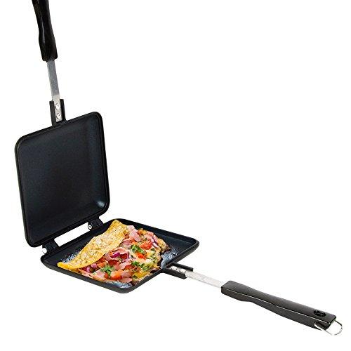 FaithSandwich Toaster Black für Gasbrenner