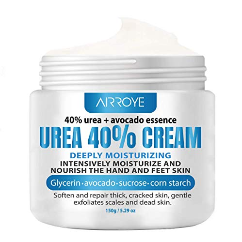 Urea 40% Cream Enriched Natural Moisturized Ingredients, Moisturizes Nourishes Softens Dry,Cracked, Rough, Dead Skin, Remove and Repair calluses, Corn for Hands, Feet,Elbows and Knees