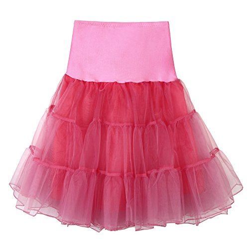 Damen Röcke, VEMOW Frauen hohe Taille Plissierter kurz Tutu Tanzender Karneval Mini...