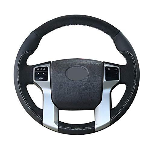 YINSHURE Handnähen Autolenkradabdeckung, für Toyota Land Cruiser Prado 2017-2010 Tacoma 2012-2019 Tundra 2014-2019