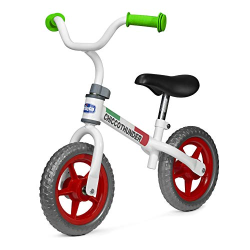 Chicco Chicco Thunder - Bicicleta de equilibrio para primera bicicleta sin pedales, para niños de 2 a 5 años