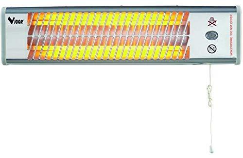 Blinky BK-SQ1200 Stufa al Quarzo per Esterni, 2 Livelli di Potenza da 600 W