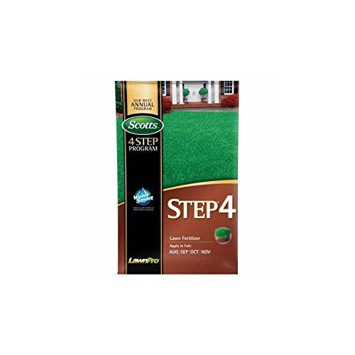 Scotts Lawn Pro Step 4 Lawn Fertlizer 32-0-12 5000 Sq. Ft. Granules