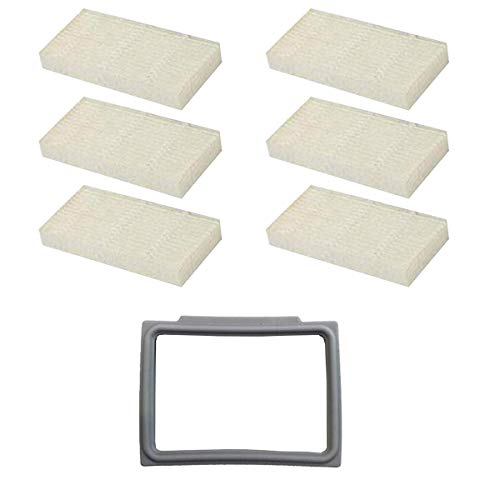 N / A Youriaa Lot de 6 filtres HEPA et 1 support de filtre HEPA pour filtre AMIBOT Pure, Pulse et Prime