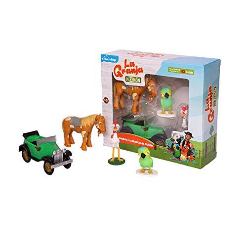 La Granja de Zenon Adventure Action Figures Set , 4 Collectible Action Figures, Toys for Kids Ages 3 and Up