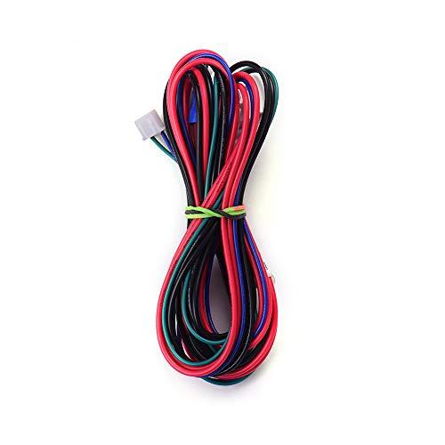 Ajcoflt Anet 18AWG Mejora Cable de la cama con calefacción Línea de la cama con calefacción Longitud del cable 90 cm / 35,4 pulgadas para Anet Anet A8 A6 A2 A3 E12 E10 Proveedores de actualización de