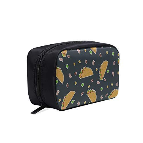 Colored Makeup Bag Sandwich Breakfast Food Healthy Delicious Simple Toiletry Bag Cosmetic Bag For Baby Best Makeup Bag Cosmetic Bags Multifunction Case Travel Toiletry Bag