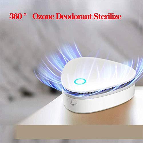 360 ° Ozon deodorant steriliseren, voor thuiskantoor kledingkast schoenenkast sterilisator koelkast voedsel conservering kast, Gemakkelijk te dragen