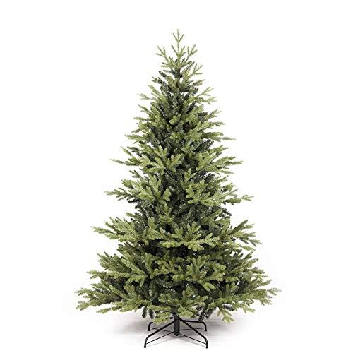artplants.de Künstlicher Weihnachtsbaum Graz, grün, 150cm, Ø 100cm - Christbaum - Kunsttannenbaum