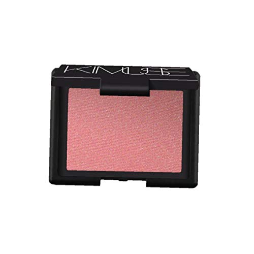Soft Powder Blush Palette Larga duración Mate Blush Blush individual de maquillaje cosméticos faciales portátiles (Orgasm)