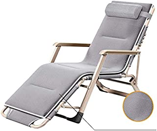 Multi-Function Folding Bed/Garden Armrest Chair/Portable Beach Chair, Adjustable, Detachable Cotton Pad, Office/Garden/Outdoor, Support 200Kg.