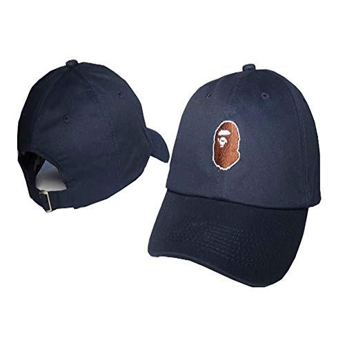 sdssup Cap Hat Hip Hop Hat Mujer Hombre Gorra de béisbol Casual Hip Hop Hat 1 Ajustable