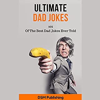 Ultimate Dad Jokes audiobook cover art