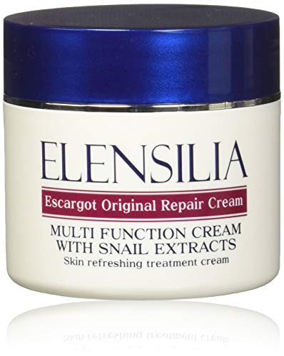 Korean Cosmetics Elensilia Escargot Original Repair Cream with Snail Extracts 50g