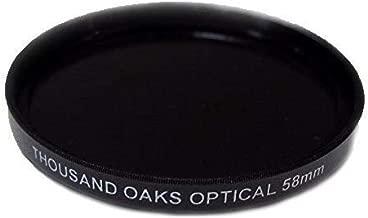 Threaded Black Polymer Solar Filter for Cameras, 52mm