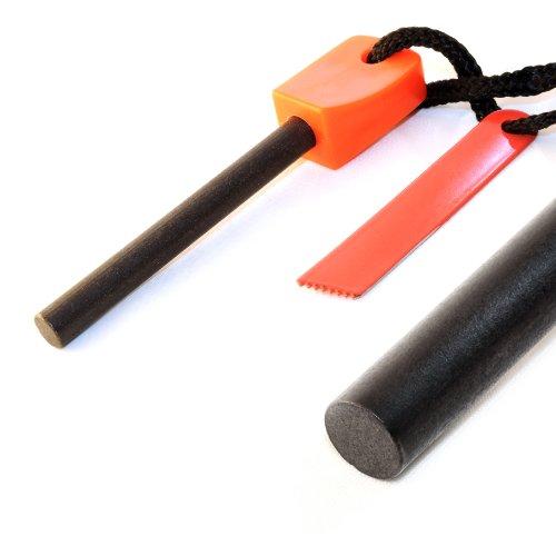 Pierre de magnésium (72 mm) pour extérieur, avec bloc de ganzoo-couleur : rouge