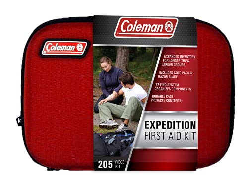 Coleman Camping All Purpose Camping First Aid Kit for Emergencies - 205 Piece