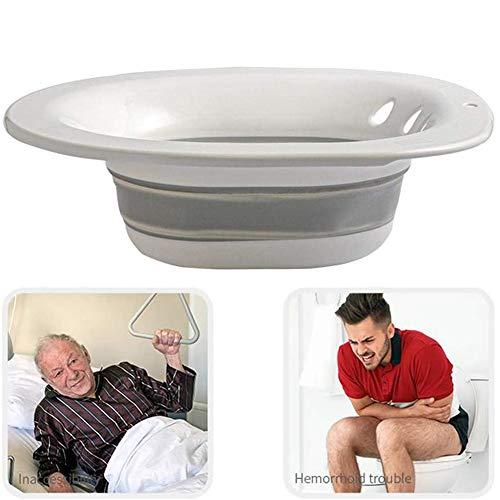 HSART Klapptoilette Sitzbad,Das Umweltfreundlich, Geruchlos,Hochtemperaturbeständig, Nicht Verformbar,EIN Wasservolumen Von 2000 Ml,Badewanne Einweichen