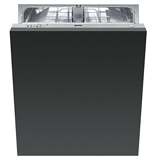 Smeg ST321-1 Totalmente integrado 13cubiertos A+ lavavajilla - Lavavajillas (Totalmente integrado, Acero inoxidable, Botones, Frío, Caliente, Acero inoxidable, 13 cubiertos)