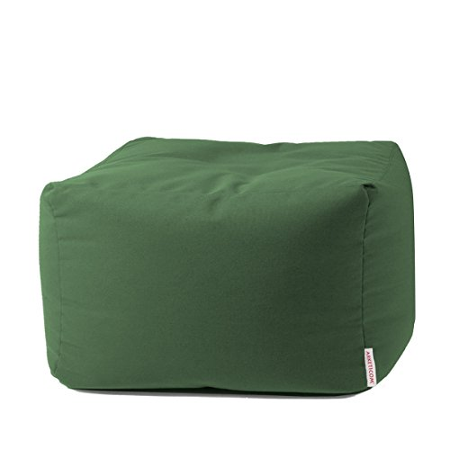 Arketicom Soft Cube Outdoor Pouf Sacco Morbido Poggiapiedi arredo Giardino Esterno Idrorepellente