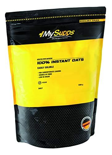 My Supps 100% Instant Oats - ultrafeine, vermahlene Haferflocken - wertvolle Kohlenhydrate & Ballaststoffe, 1er Pack (1x1000g)