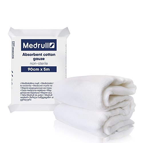 Medrull Gaze Groß 90 cm x 5 m Medical Mull
