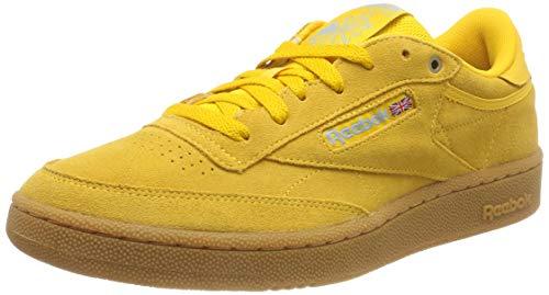 Reebok Club C 85 Mu, Zapatillas para Hombre, Amarillo (Banana/Blue/Gum 0), 44 EU