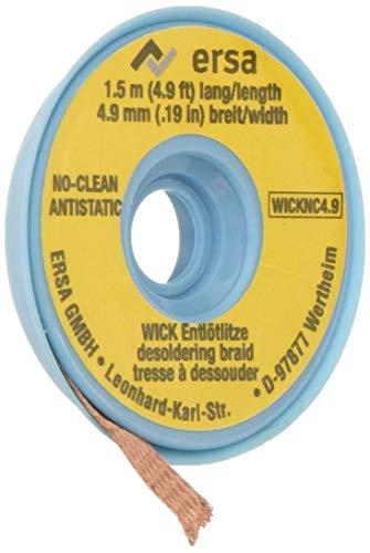 Ersa NoClean Entlötlitze 4,9 mm auf 1,5 m Spule, WICK4.9-1.5