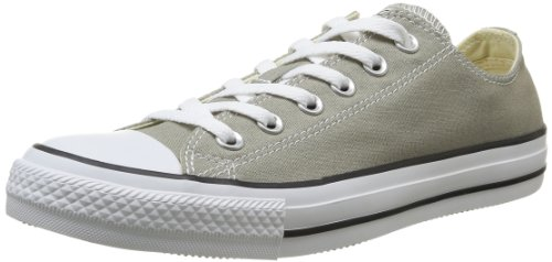 Converse, All Star Ox Canvas Seasonal, Sneaker Unisex - Adulto, Argento (Old Silver), 36