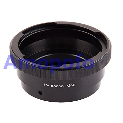 amopofo Kamera Adapter für Pentacon 6Kiev 60Objektiv auf M42Chinon Mamiya Yashica Fujica