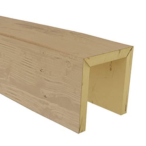 Ekena Millwork BMSDPP Sandblasted Endurathane Faux Wood Ceiling Beam Sample,