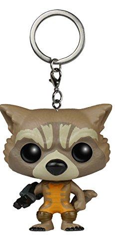 Pocket POP! Keychain: Marvel: Guardianes de la Galaxia: Rocket Raccoon
