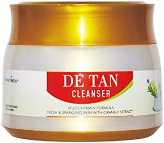 Pure Vedas De - Tan Face Cleanser For Skin Lightening/Brightening - 200Ml