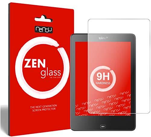ZenGlass Nandu Pellicola Protettiva in Vetro Compatibile con Tolino Epos eBook Reader I Protezione Schermo 9H
