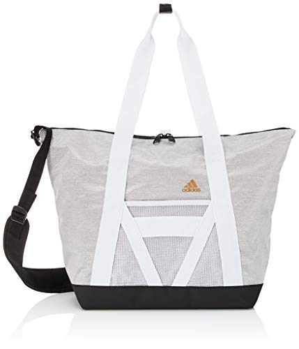 adidas W Tr Id Tote Ts Damen-Tasche, Damen, Sportsack, FS2935, Toqgri/Schwarz (mehrfarbig), Einheitsgröße