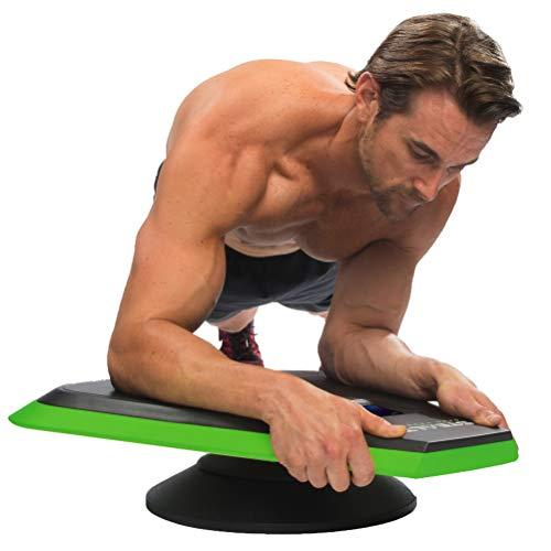 Stealth Core Trainer Professional - Entraînement Dynamic Plank AB, Plateau de Fitness interactif avec Technologie Gameplay pour Un Dos sain et Un Noyau Solide