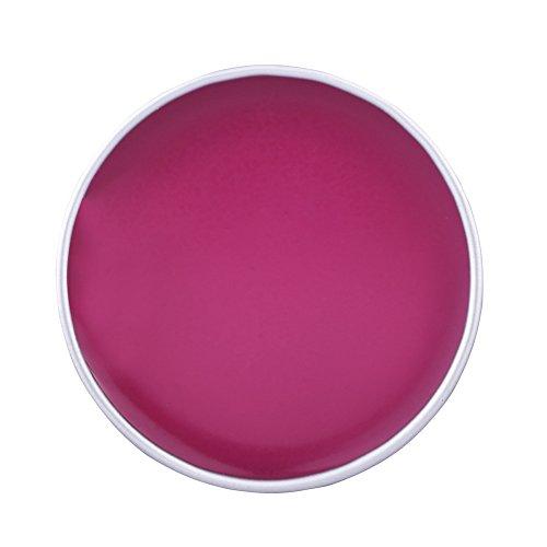 7 Couleurs Visage Huile de Peinture pour Le Corps, Pigment D'extrait De Plante Naturelle pour Halloween Party Cosplay Robe Outil de Maquillage(Rose rouge)